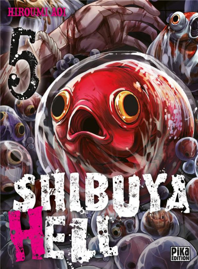 Couverture Shibuya hell tome 5