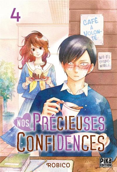 Couverture Nos précieuses confidences tome 4