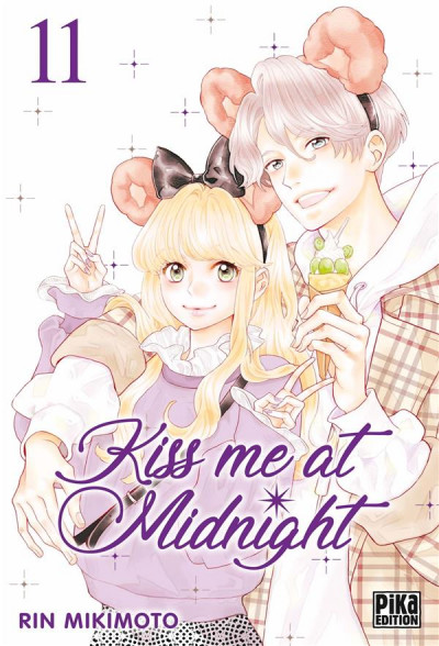 Couverture Kiss me at midnight tome 11