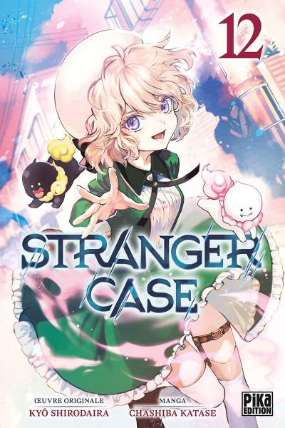 Couverture Stranger case tome 12