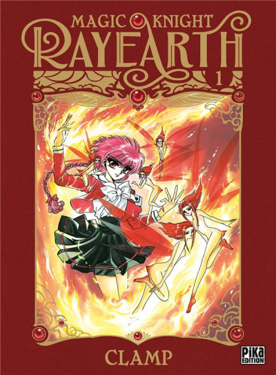 Couverture Magic knight rayearth tome 1