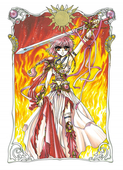 Page 8 Magic knight rayearth tome 1