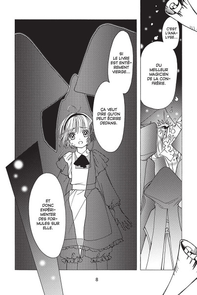 Page 8 Card captor Sakura - clear card arc tome 8