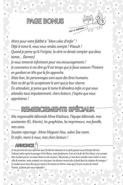 Page 6 Mon coloc' d'enfer tome 8