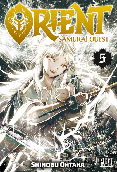 Couverture Orient - samurai quest tome 5