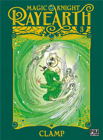 Couverture Magic knight rayearth tome 3