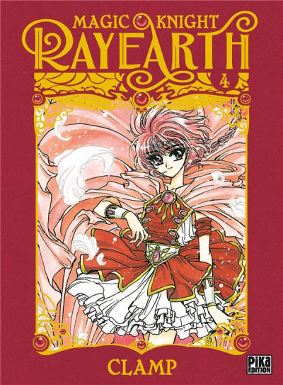 Couverture Magic knight rayearth tome 4