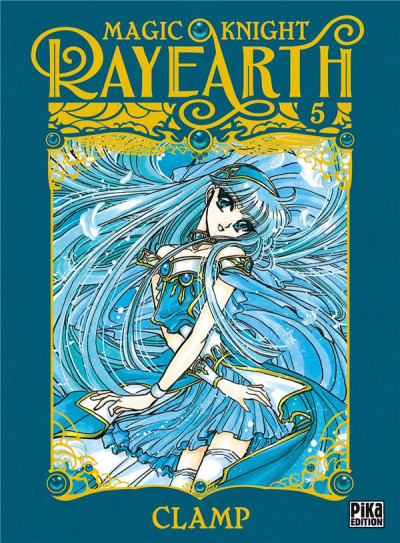 Couverture Magic knight rayearth tome 5