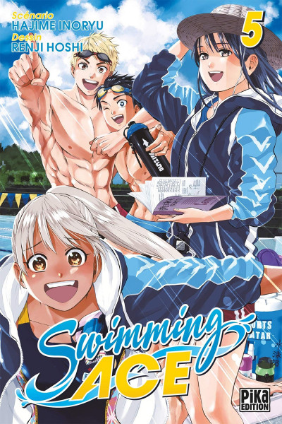 Couverture Swimming ace tome 5