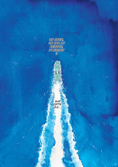 Page 3 L'île entre deux mondes tome 1