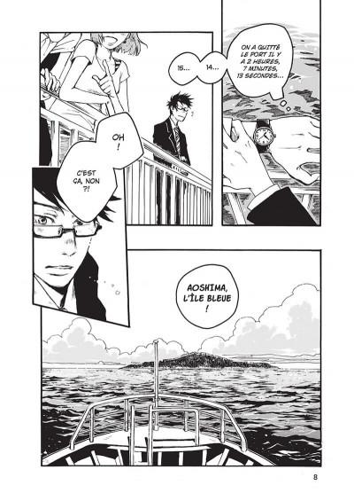 Page 8 L'île entre deux mondes tome 1
