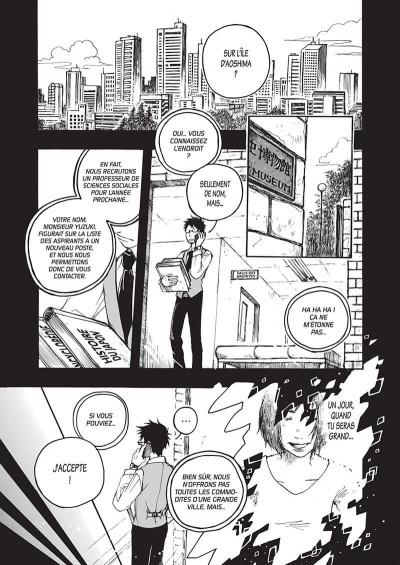 Page 9 L'île entre deux mondes tome 1