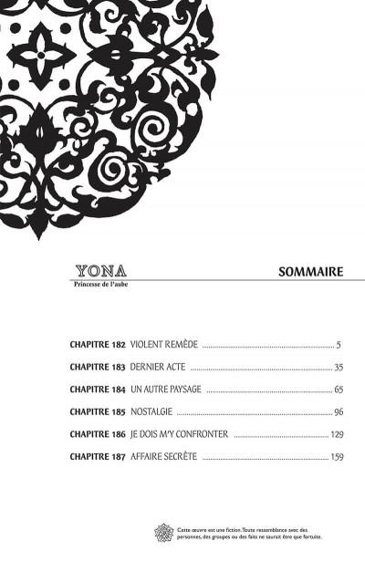 Page 4 Yona, princesse de l'aube tome 32