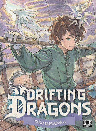 Couverture Drifting dragons tome 5