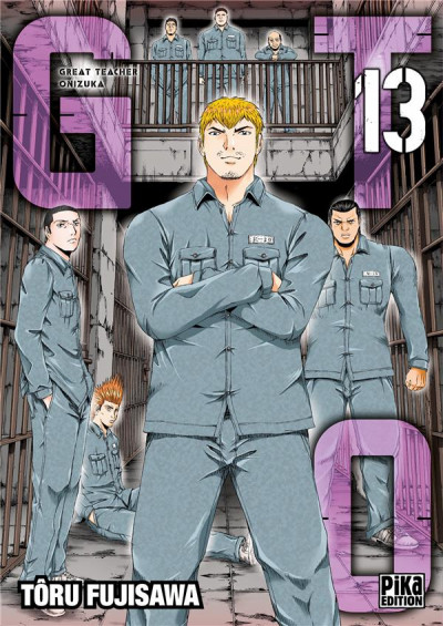 Couverture GTO paradise lost tome 13