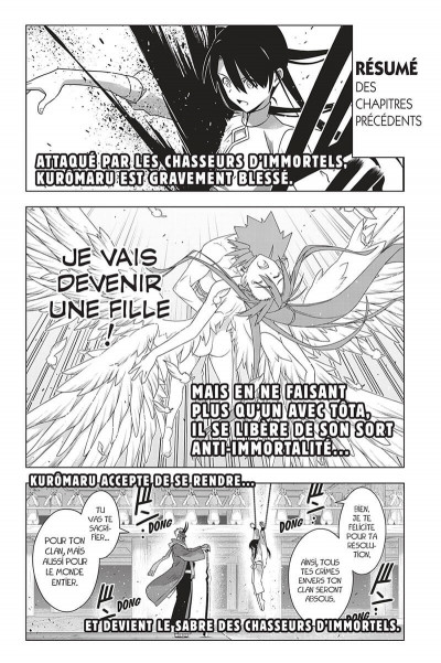 Page 4 UQ holder! tome 24