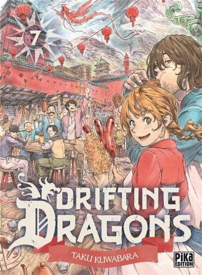 Couverture Drifting dragons tome 7
