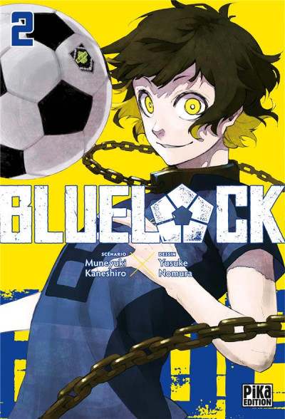 Couverture Blue lock tome 2