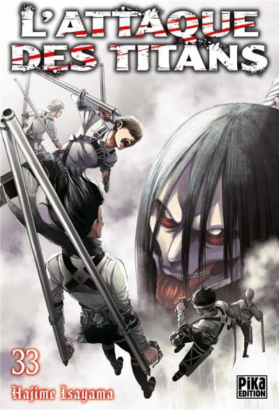 Couverture L'attaque des titans tome 33