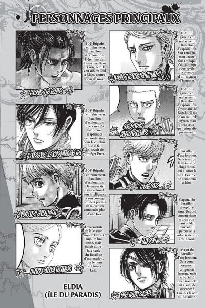 Page 2 L'attaque des titans tome 33