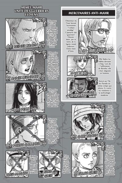 Page 3 L'attaque des titans tome 33