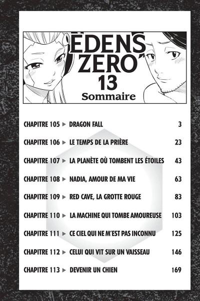 Page 2 Edens zero tome 13
