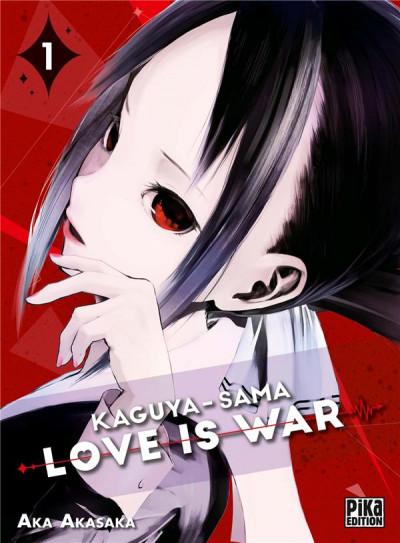 Couverture Kaguya-sama : love is war tome 1