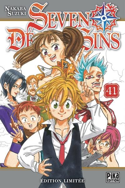 Couverture Seven deadly sins tome 41 (éd. limitée)