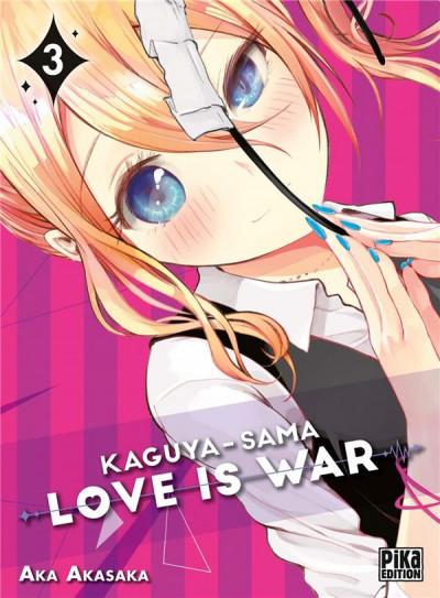 Couverture Kaguya-sama : love is war tome 3