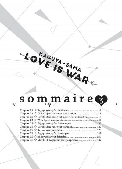 Page 4 Kaguya-sama : love is war tome 3