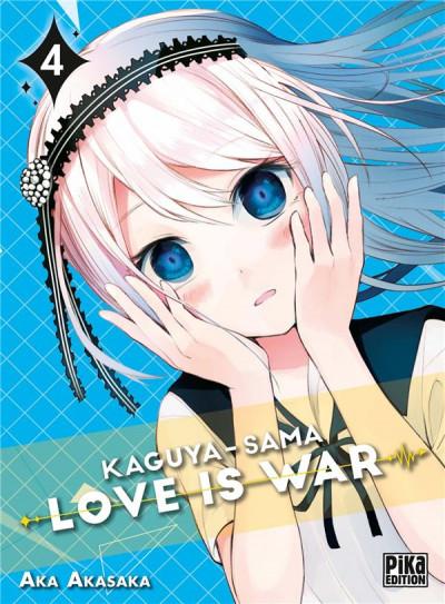 Couverture Kaguya-sama : love is war tome 4