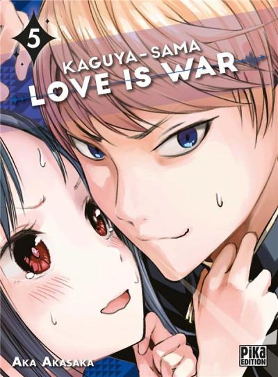 Couverture Kaguya-sama : love is war tome 5