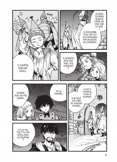 Page 6 L'atelier des sorciers tome 8