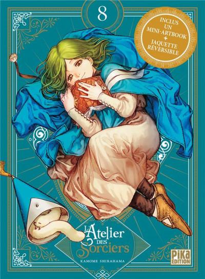 Couverture L'atelier des sorciers - collector tome 8