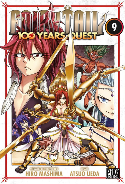 Couverture Fairy tail - 100 years quest tome 9