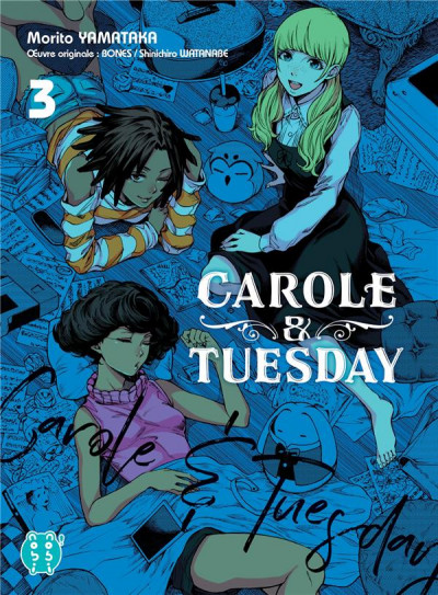 Couverture Carole & Tuesday tome 3