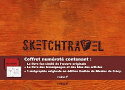 Couverture sketchtravel ; version luxe