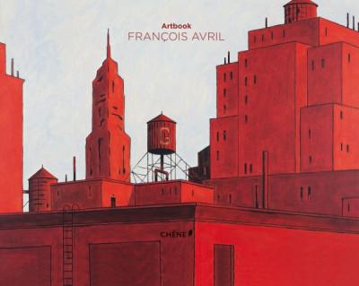 Couverture artbook François Avril