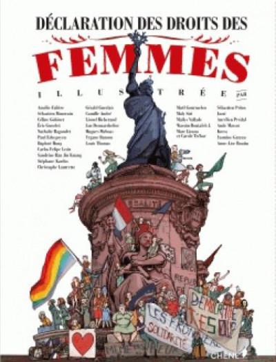 Couverture Déclaration des droits des femmes illustrée