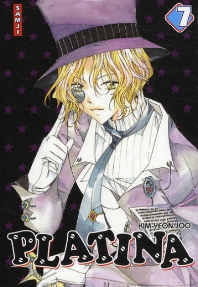 Couverture platina tome 7