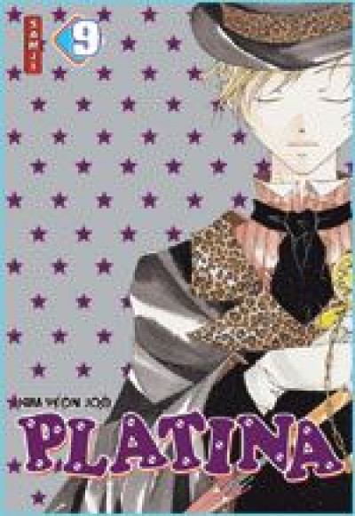 Couverture platina tome 9