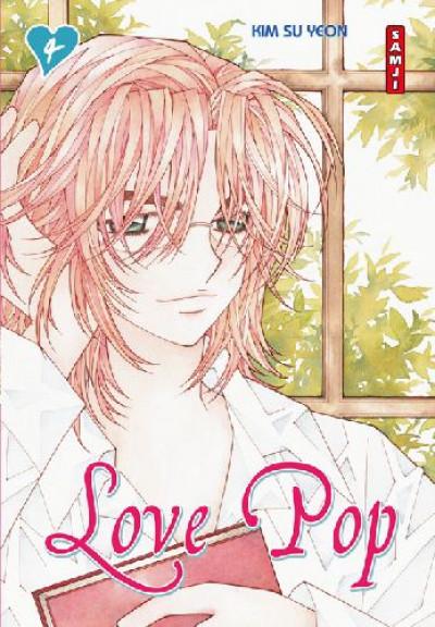 Couverture love pop tome 4
