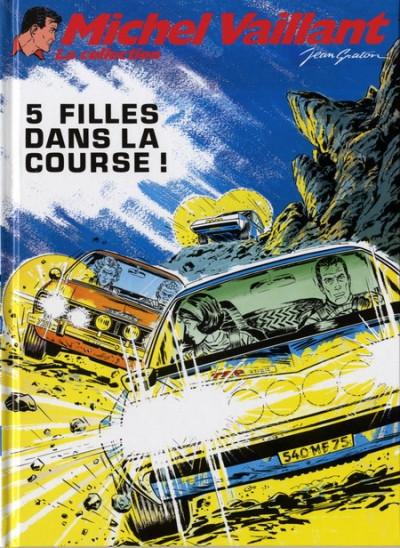 Couverture Michel Vaillant - La collection tome 19 - 5 filles dans la course !