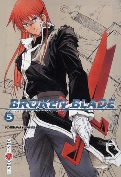 Couverture broken blade tome 5