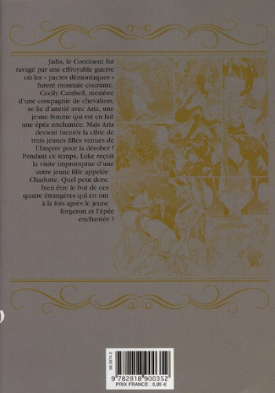 Dos the sacred blacksmith tome 3