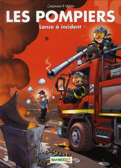 image de les pompiers tome 10