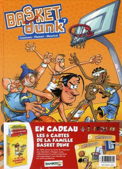 Couverture basket tome 7 - jeu des familles bamboo