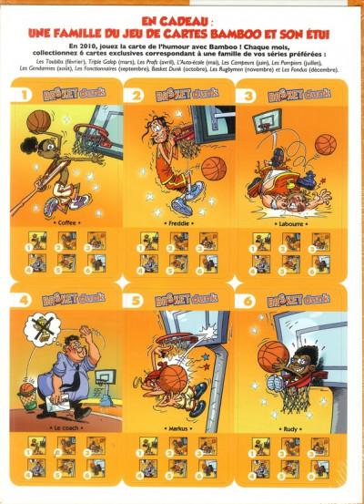 Dos basket tome 7 - jeu des familles bamboo