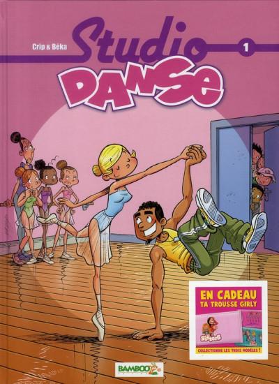 Couverture Studio danse tome 1