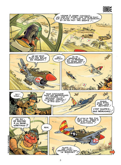 Page 4 les dézingueurs tome 2 - coureurs de nippons